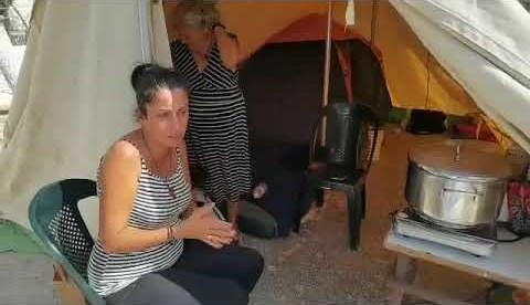 Σεισμός Κρήτη: Στις σκηνές πέρασαν τη νύχτα οι κάτοικοι (28/9/2021)
