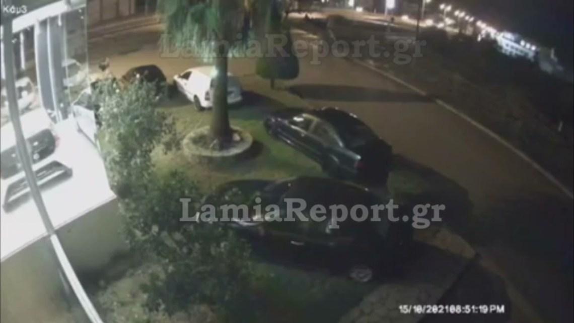 LamiaReport.gr: Πέρασε ανάμεσα από δέντρο και κολόνα και βρέθηκε στις γραμμές τρένου