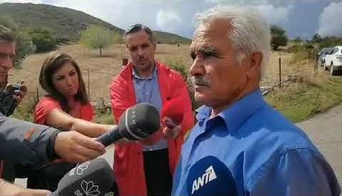 newsbomb.gr: Μαρτυρία για τον βοσκό στην Εύβοια: Τον βρήκαμε σφηνωμένο σε δέντρα