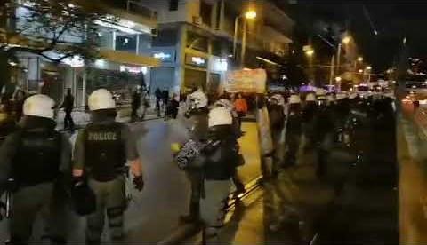 newsbomb.gr: Πορεία στο κέντρο της Αθήνας κατά του νομοσχεδίου για την αξιολόγηση των εκπαιδευτικών