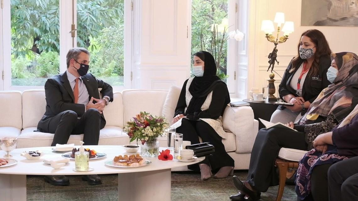 newsbomb.gr: Συνάντηση Μητσοτάκη με γυναίκες βουλευτές και δικαστικούς από Αφγανιστάν – Τι συζήτησαν