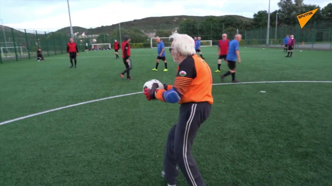 Ο γηραιότερος εν ενεργεία ποδοσφαιριστής είναι ένας 88χρονος παππούς τερματοφύλακας