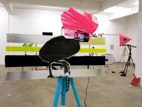Emma Hart, TO DO (detail), 2011. Emma's first Matt's Gallery exhibition runs until 20 November 2011.