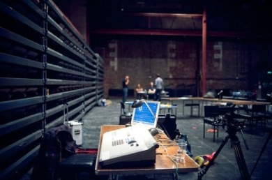 The Making Of Development Week, Glasgow International Festival of Visual Art, 2011. Photography by Tommy Ga-Ken Wan.