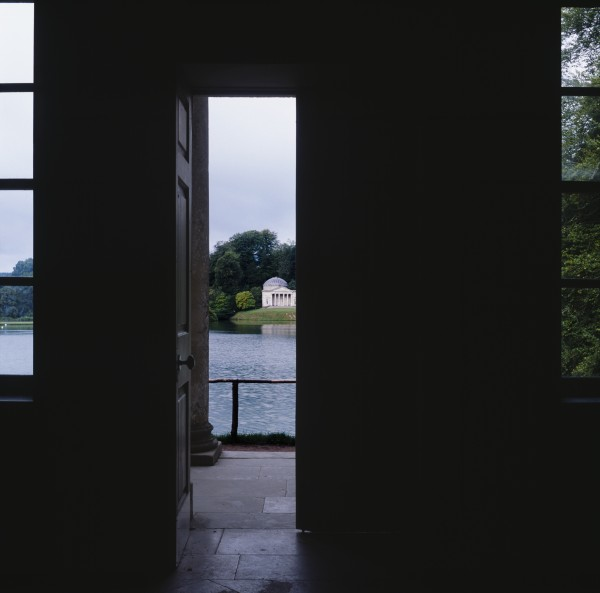 Fiona Crisp, Temple of Flora, 2006/ 2012. Photograph 112 x 112 cm, part of The Stourhead Cycle
