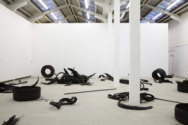 Mike Nelson, M6, 2013. Installation view at Eastside Projects. Photograph by Stuart Whipps. Courtesy of Eastside Projects.