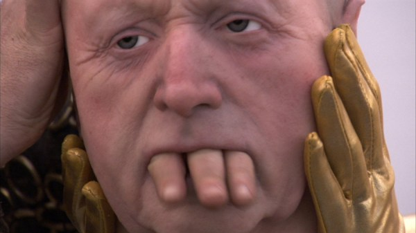 Nathaniel Mellors, The Seven Ages of Britain Teaser, 2010. HD video still.