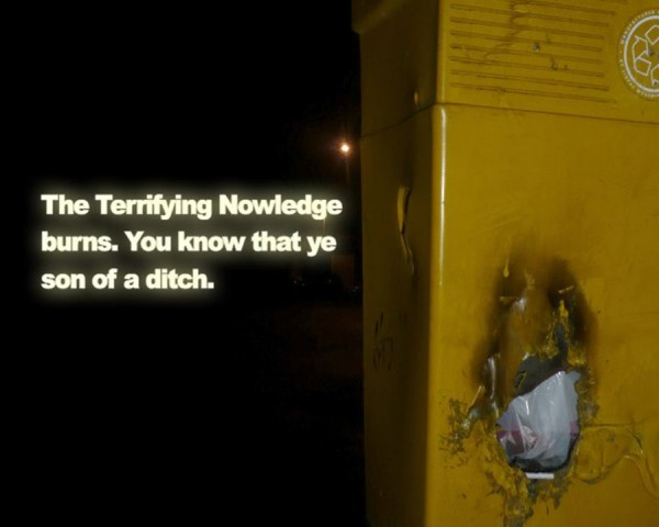 Paul Rooney, Feral Knowledge, 2012. Video still.