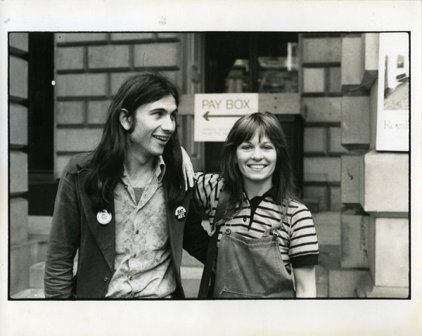 Robin Klassnik with Alexis Hunter,