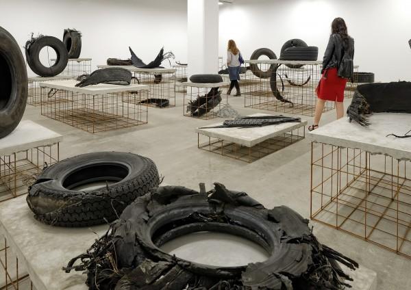 Mike Nelson, A7 (Route du Soleil), 2015. Installation view, Biennale de Lyon, 2015 Photograph: Blaise Adilon.