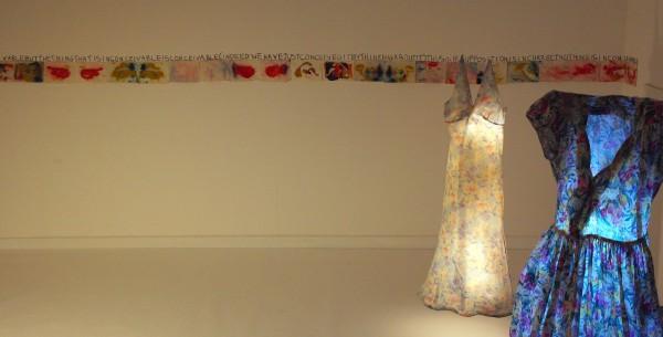 Anne Bean, MoCa, 2015. Installation view.