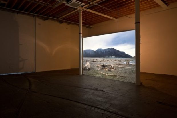 Mike Nelson, Eighty Circles Through Canada (The Last Possessions Of An Orcadian Mountain Man), 2013. Installation view at Tramway, Glasgow. Photo by Keith Hunter. Courtesy the artist and 303 Gallery, New York; Galleria Franco Noero, Turin; Matt's Gallery, London; and neugerriemschneider, Berlin.