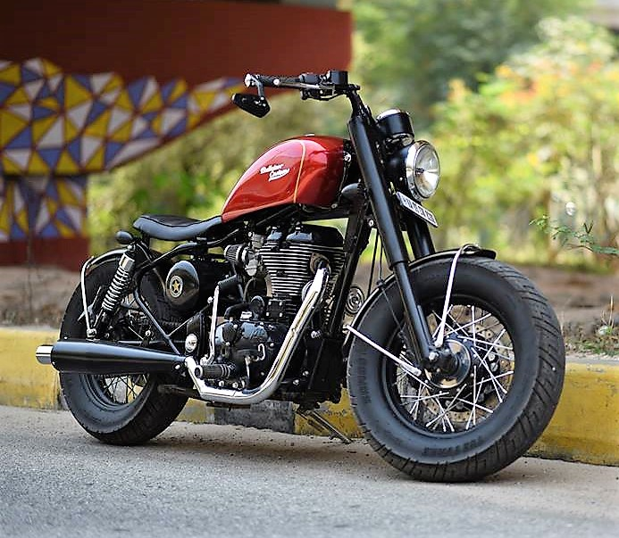 Modified Royal Enfield Thunderbird Icarus By Bulleteer
