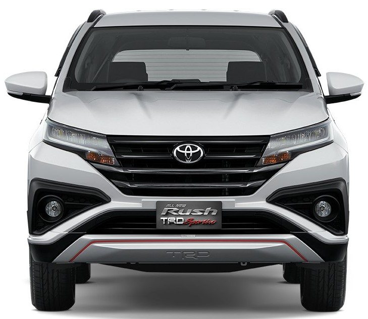 toyota yaris trd sportivo 2018 indonesia new agya 1.2 rush suv makes debut in complete details