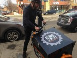 Each cargo bike was an initial investment of $4,000.