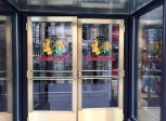 Entry to Blackhawks Store