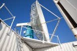 The transportable S-Pol radar is set near Hays, Kansas, for the PECAN project. The S-Pol is an advanced, transportable, ground-based, dual-polarimetric, dual-wavelength, Doppler weather radar.