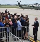 Mayor Emanuel greets crowd