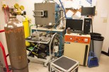 UIUC equipment for designing and conducting experiments. Undergraduates with appropriate training and knowledge will use liquid nitrogen, extremely hot ovens and intense vacuums to study the potential effects of space on their satellite designs.