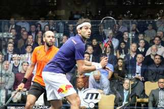 The ElShorbagy brothers played their second World Series final together in Chicago.(Annanya/MEDILL)