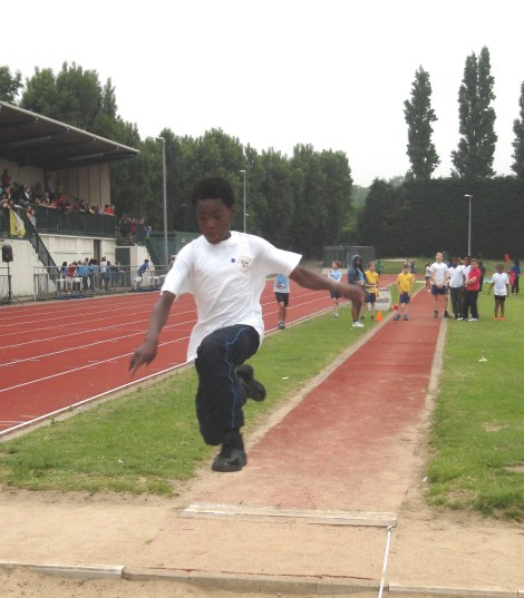 Merton School Sport Partnership's athletics competition