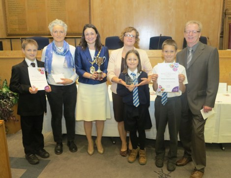 The Priory School and Wimbledon Chase Primary School won joint first place in the Best School Wildlife Garden category