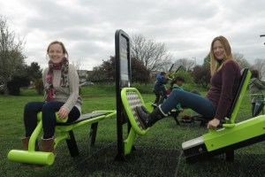 Exercise equipment at Mostyn Gardens