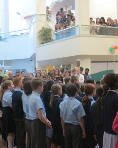 Young singers from Merton Music Foundation