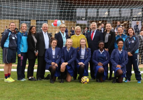 Opening of UHS playing fields - Sept 2017