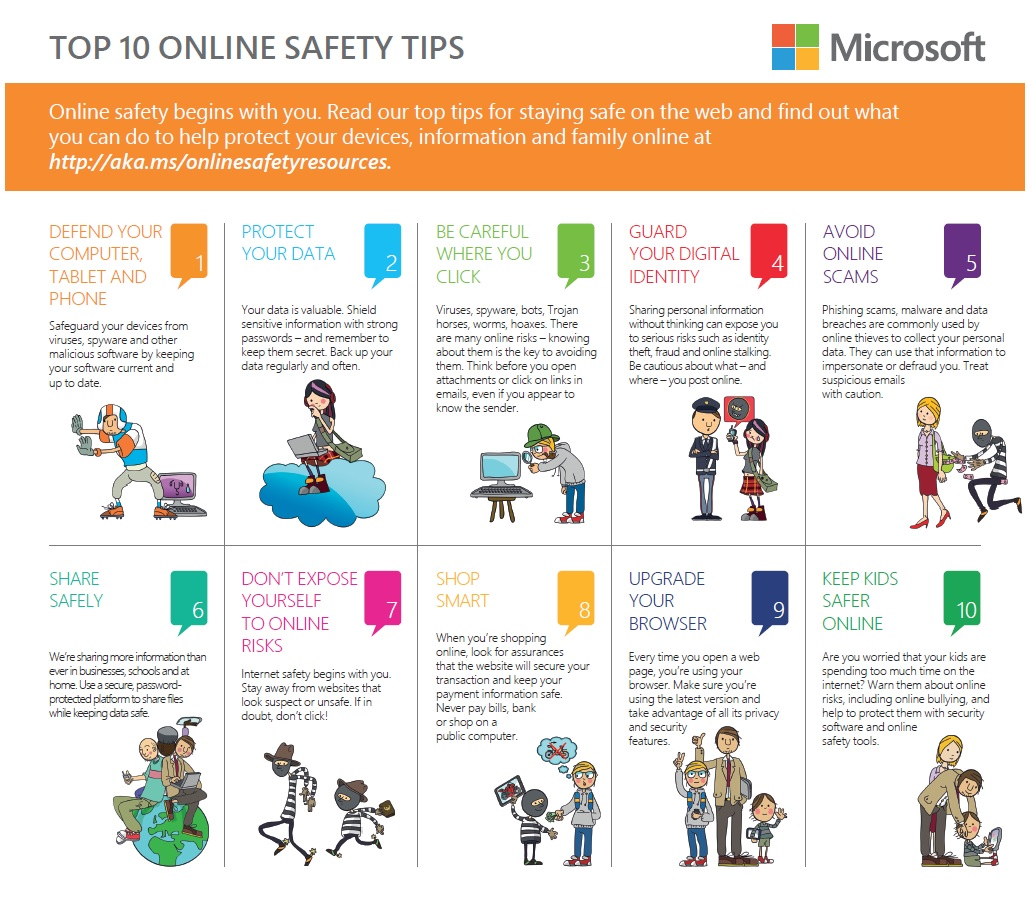 Safer Internet Day Top 10 Online Safety Tips