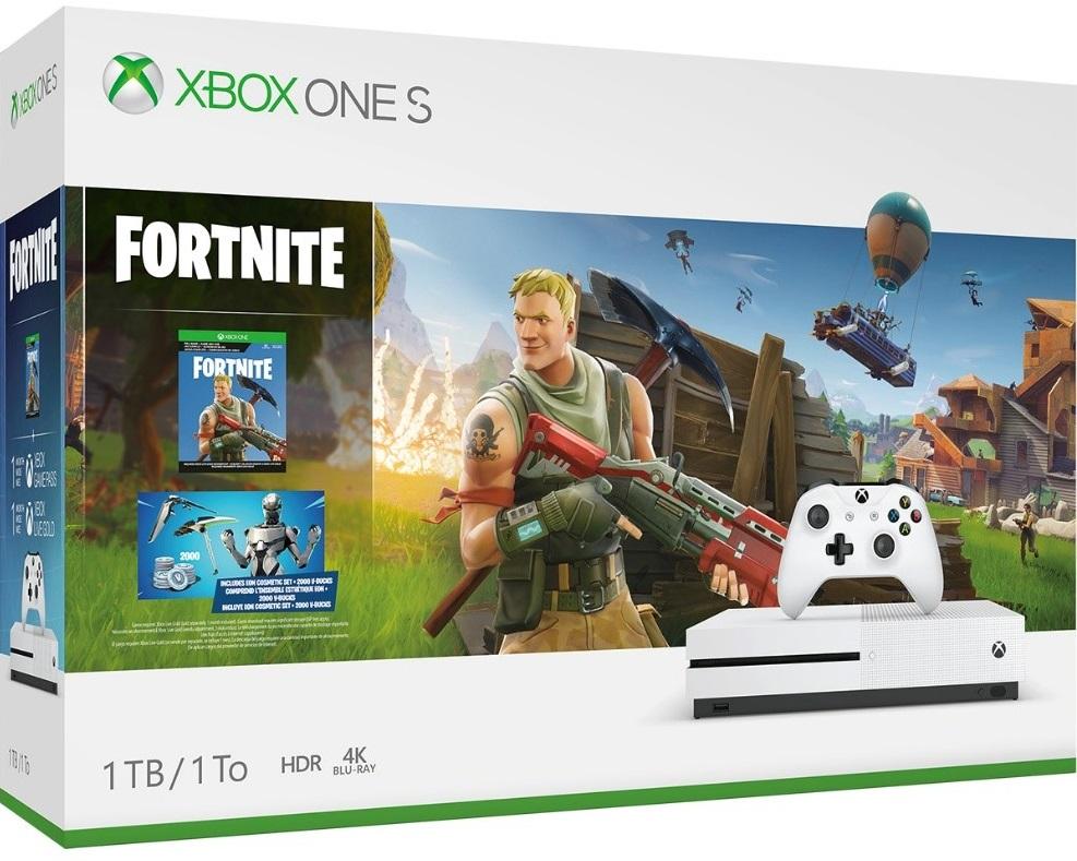 Xbox Announces Fortnite Console Bundle With Exclusive