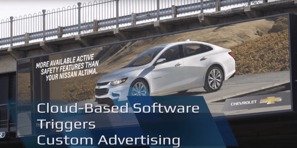 Lamar/GM Use Worknet Analytics for Milestone Digital Billboard Marketing