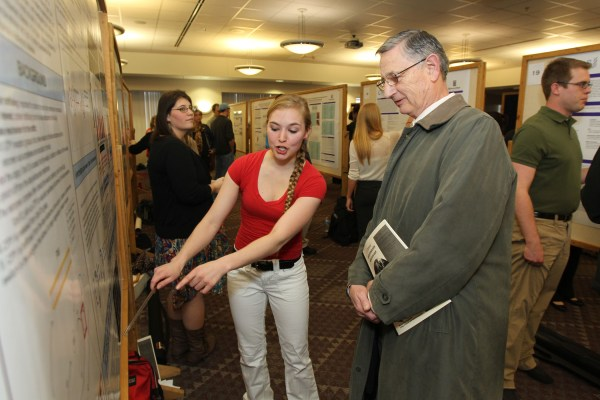Undergraduate Day Highlights Exceptional Student Work