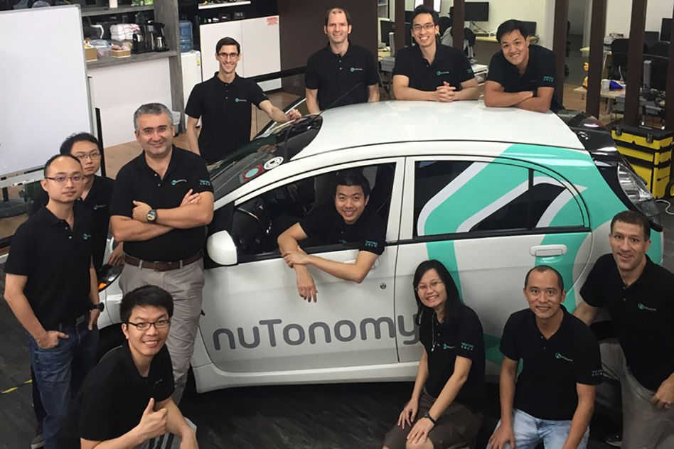 Startup bringing driverless taxi service to Singapore | MIT News |  Massachusetts Institute of Technology