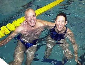 Zesiger Pool Design Promotes Swimmer Speed Mit News Massachusetts Institute Of Technology