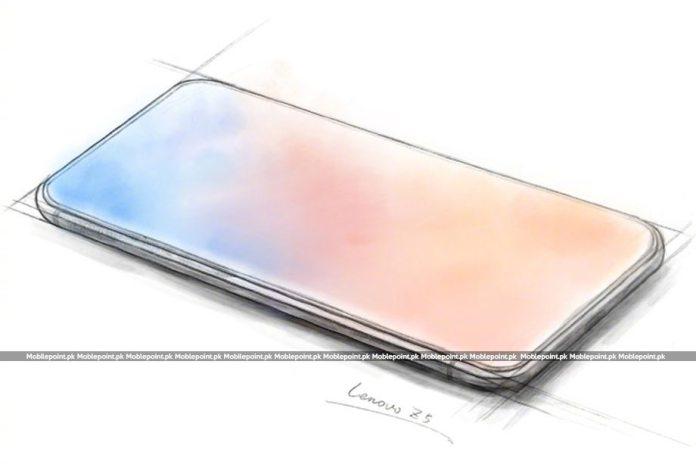 Lenovo Z5 Sketched Image