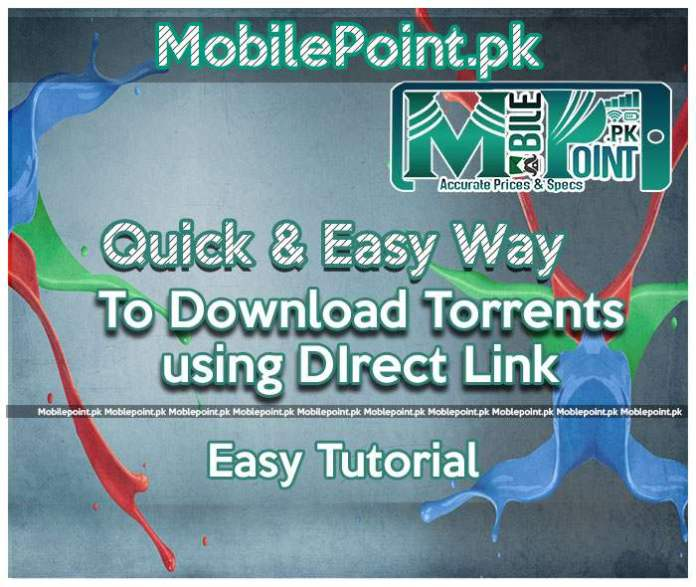 Quick and Easy Way to convert torrents to direct links