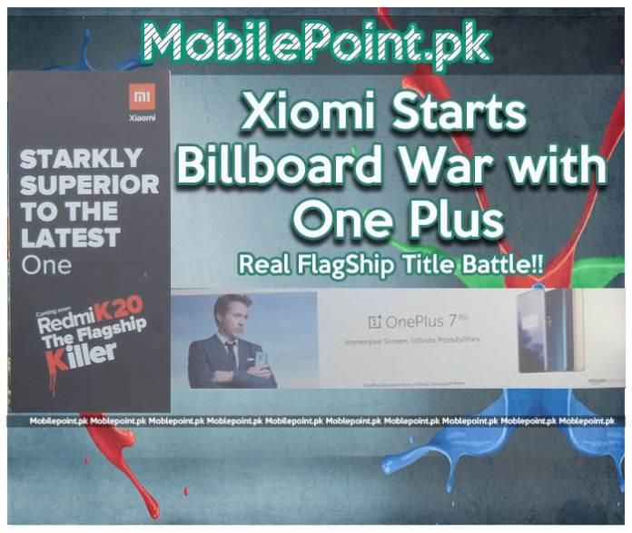Xiomi Starts Billboard War with OnePlus