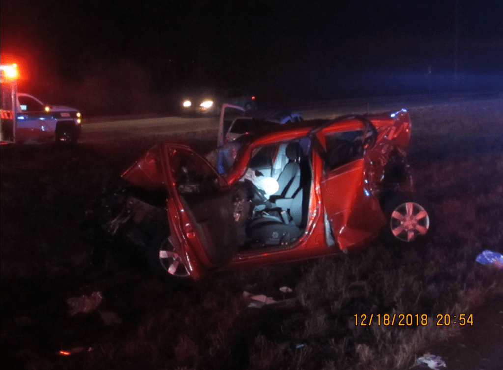 Accident shuts down eastbound lanes of Highway 78 Tuesday
