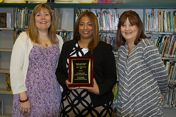 Burtonsville Elementary ES Principal Honored by Media