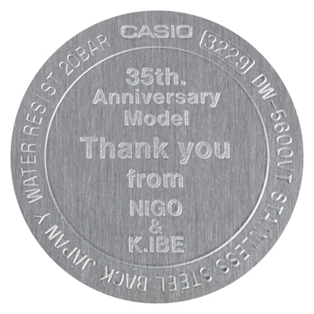 NIGO×K.IBE G-SHOCK 35周年記念スペシャルコラボレーションモデル