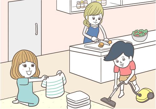 ママたちの子育てトラブル體験談(16) 家事はお母さんだけの仕事 ...