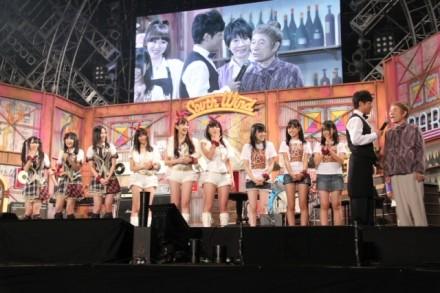 AKB48,SKE48,NMB48が新喜劇で初コケ! - 「LIVE STAND」が大阪で開幕 | マイナビニュース