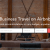 Airbnb creates a new Booking Tool for Business Travelers
