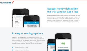 Send and Request Money on BBM via Quickteller in Nigeria