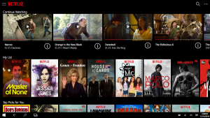 Netflix launches Windows 10 App on PC and Tablet