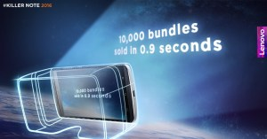 10,000 Lenovo K4 Note VR Bundles Sold Out in 0.9 seconds