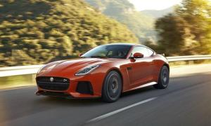 Jaguar F-Type range topper debuts March 2016