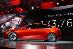 Tesla Model 3 Electric Sedan Unveiled