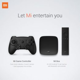 Xiaomi Mi Box 4K Android TV box announced